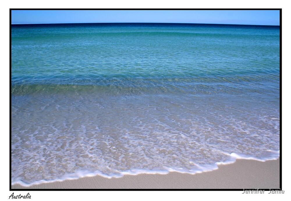 Australian Beach by Jennifer  Jamie