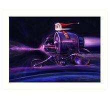 Stardust Rider Art Print