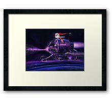 Stardust Rider Framed Print