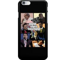 The Wire + Grand Theft Auto | Grand Theft Baltimore iPhone Case/Skin