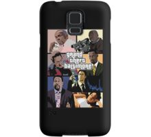 The Wire + Grand Theft Auto | Grand Theft Baltimore Samsung Galaxy Case/Skin