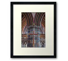 Exeter Cathedral (2) Framed Print