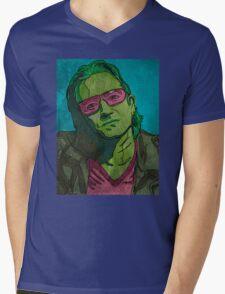 One Mens V-Neck T-Shirt
