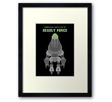 Protectron Framed Print