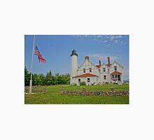 Point Iroquois Lighthouse, Upper Pennusula, Michigan Unisex T-Shirt