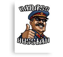 Stalin - Badass Russian Canvas Print