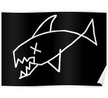 Flippermind. Black! Poster
