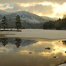 Icy Loch by Steve