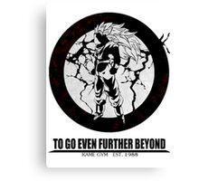 Super Saiyan 3 ascension Canvas Print
