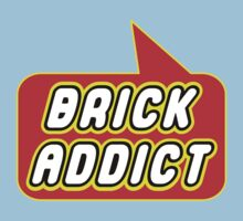 Brick Addict by Bubble-Tees.com Kids Tee