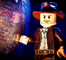 Indiana Jones by jarodface