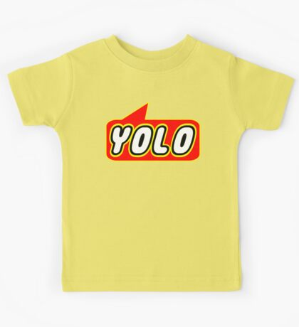 YOLO by Bubble-Tees.com Kids Tee