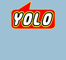 YOLO by Bubble-Tees.com Womens Fitted T-Shirt
