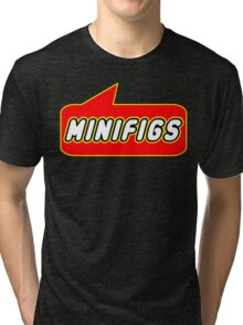 MINIFIGS by Bubble-Tees.com Tri-blend T-Shirt