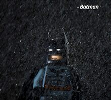 I'm Batman - Batman. by jarodface
