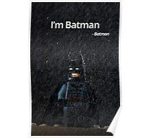 I'm Batman - Batman. Poster