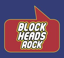 Block Heads Rock by Bubble-Tees.com by Bubble-Tees