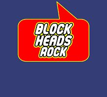 Block Heads Rock by Bubble-Tees.com T-Shirt