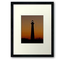 Cape Hatteras Sunset Framed Print