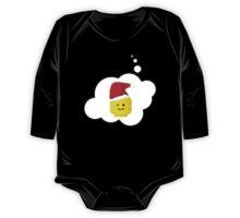 Santa Minifig Head by Bubble-Tees.com One Piece - Long Sleeve