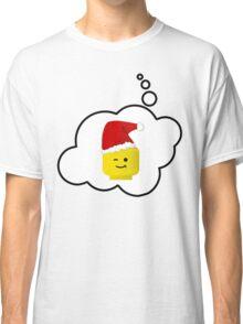 Santa Minifig Head by Bubble-Tees.com Classic T-Shirt