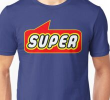 SUPER by Bubble-Tees.com Unisex T-Shirt