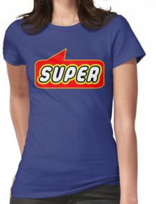 SUPER by Bubble-Tees.com Womens Fitted T-Shirt
