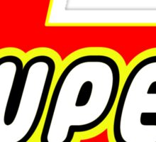 SUPER by Bubble-Tees.com Sticker