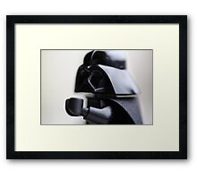 I want them alive! Framed Print