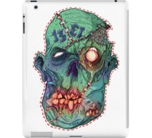 Trick-or-Treating 1313 Rotted Face iPad Case/Skin