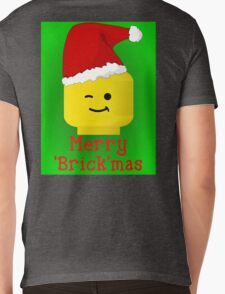 Merry Christmas Santa Minifig by Customize My Minifig Mens V-Neck T-Shirt