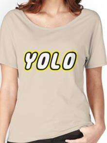 YOLO by Customize My Minifig Women's Relaxed Fit T-Shirt