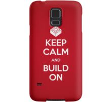 Keep Calm and Build On Samsung Galaxy Case/Skin