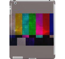 Who Broke the Tv? iPad Case/Skin