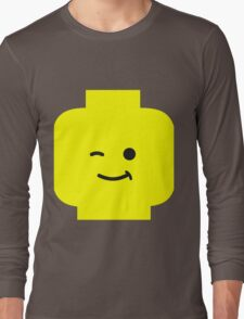 Minifig Winking Head  Long Sleeve T-Shirt
