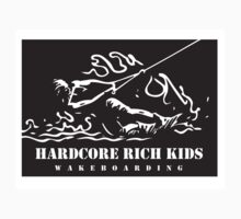 Hardcore Rich Kids - Wakeboarding Kids Tee