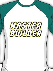 MASTER BUILDER by Customize My Minifig T-Shirt