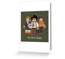 The Mini Crowd Greeting Card