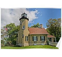 White River Lightouse Station, Whitehall, Michigan Poster