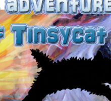 The adventures of Tinsycat, a children's picture book Sticker