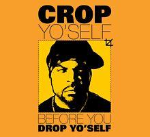 Crop Yo' Self Womens Fitted T-Shirt