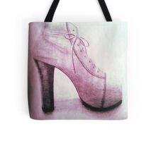 High Heel (pink) Tote Bag