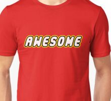 AWESOME by Customize My Minifig Unisex T-Shirt