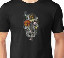 steam powered skull Unisex T-Shirt