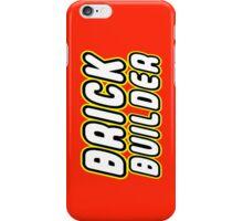 BRICK BUILDER  iPhone Case/Skin