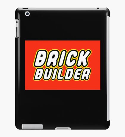 BRICK BUILDER  iPad Case/Skin