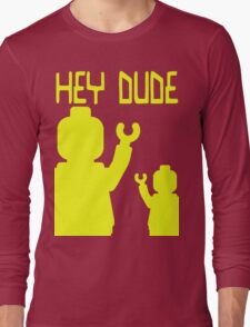 Minifig Hey Dude Long Sleeve T-Shirt