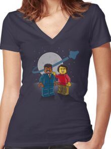 We Are Starstuff Women's Fitted V-Neck T-Shirt