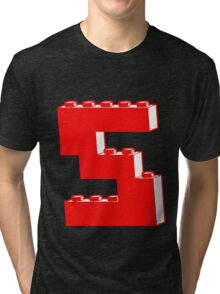 THE LETTER S by Customize My Minifig Tri-blend T-Shirt