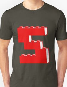 THE LETTER S by Customize My Minifig T-Shirt